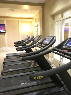 State of the are Technogym cardio equipment for customized and engaging workouts.