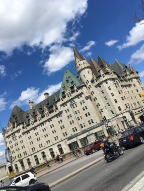 The Historic Fairmont Chateau Laurier